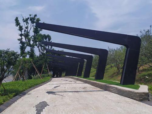 金海湾景观钢结构