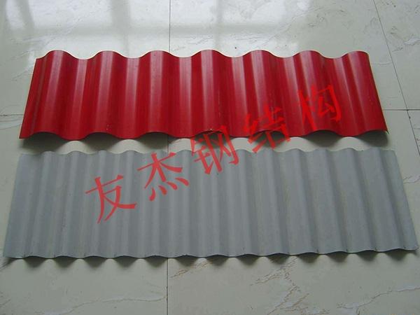 彩色压型钢结构板制作