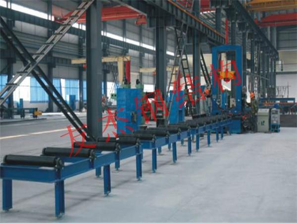 H型钢中间点焊组立机